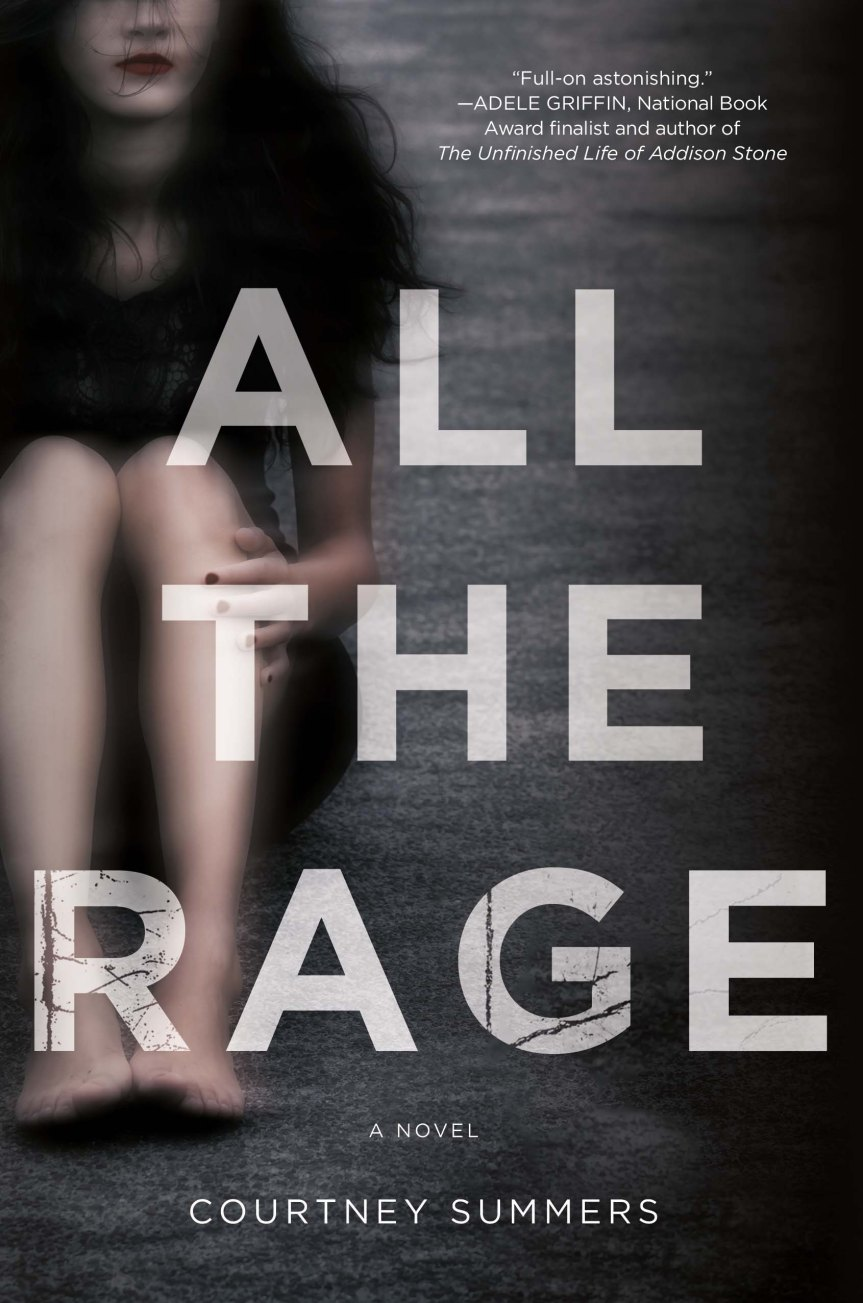 Review & Interview:  ALL THE RAGE by Courtney Summers